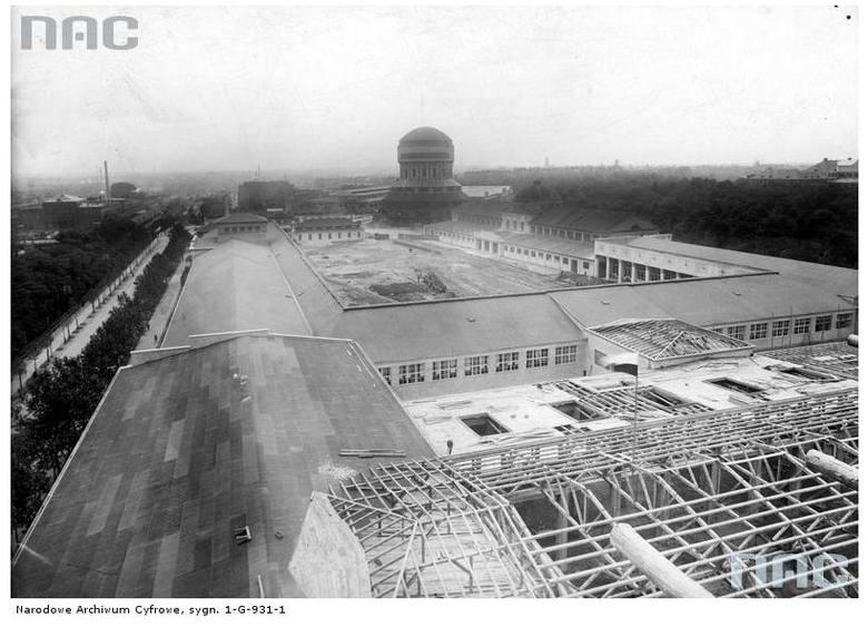 Budowa Powszechnej Wystawy Krajowej