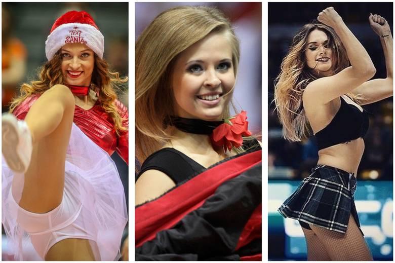 Piękne, wysportowane, uśmiechnięte - polskie cheerleaderki zachwycają kibiców urodą i wdziękiem. Nie możecie oglądać ich na żywo, więc wybraliśmy dla
