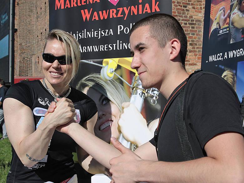 Rodzinny festyn parafialny Św. Ducha w GrudziądzuFotka z mistrzynią