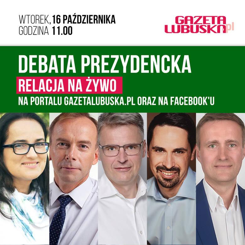 Debata kandydatów na prezydenta Zielonej Góry. Obejrzyj na żywo i podejmij decyzję na kogo oddasz swój głos!