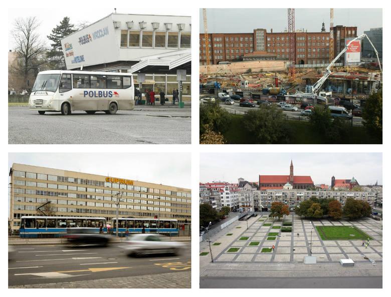 Wrocław zmienia się na naszych oczach. Jedne budynki są wyburzane, inne powstają. Gdyby ktoś przyjechał do Wrocławia po 10 latach, mógłby nie poznać