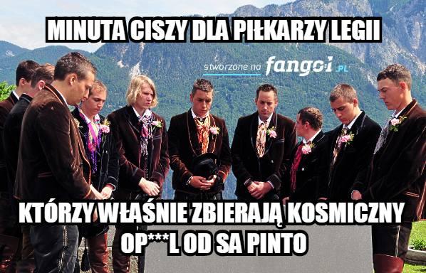 Memy o meczu Legia - Cracovia 0:2