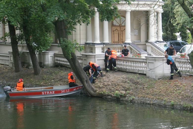 We wtorek rano kobieta pracująca w Urzędzie Miasta w Kaliszu zauważyła zwłoki unoszące się w Prośnie. Okazało się, że to 35-letni mieszkaniec Opatówka,