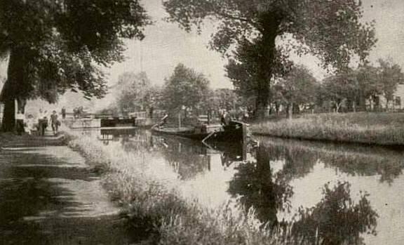 Stary kanał Kłodnica.
