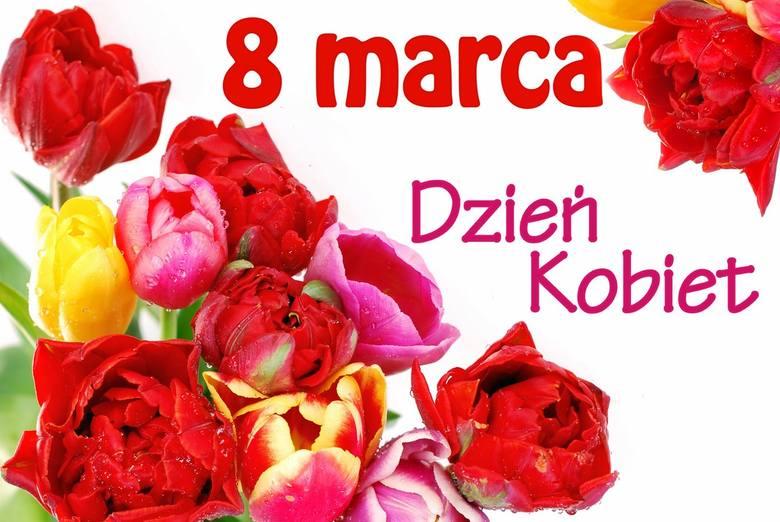 życzenia Na Dzień Kobiet 8 Marca Miłosne I śmieszne