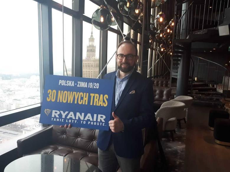Ryanair ogłosił 30 nowych tras na zimę 2019/2020. Niestety, nie ma tam Rzeszowa