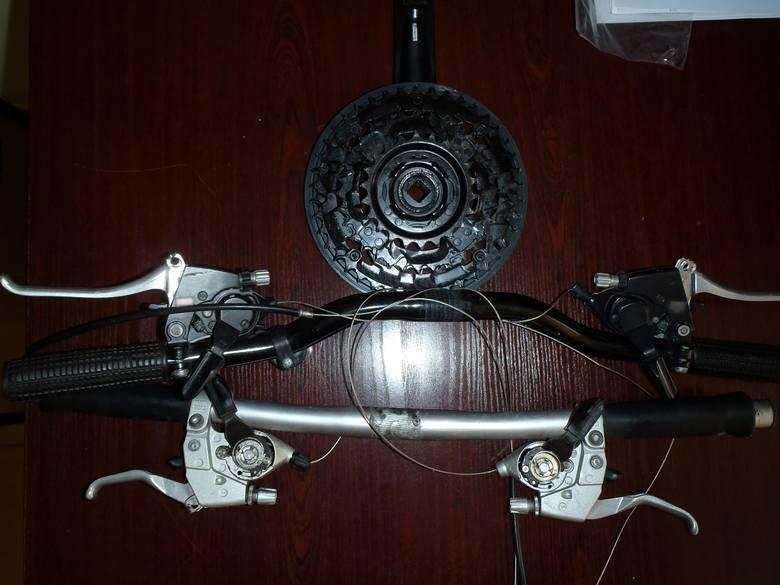 Paser i złodziej rowerów zatrzymani. Jeśli ukradli Ci rower lub elementy roweru i je rozpoznajesz, zgłoś się na policję