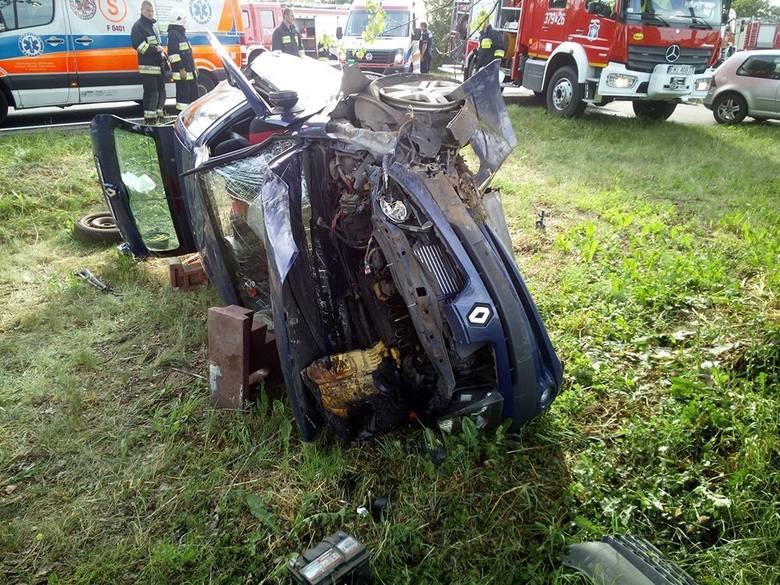 Do wypadku doszło na drodze koło Wierzbna w gminie Przytoczna. Zderzyły się dwa samochody. Wszystko wydarzyło się w niedzielę, 9 czerwca, ok. godz. 17.00.
