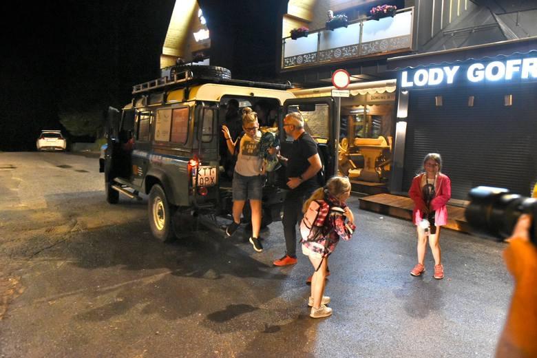 Burza w Tatrach. Kolejne porażenie turystów w górach