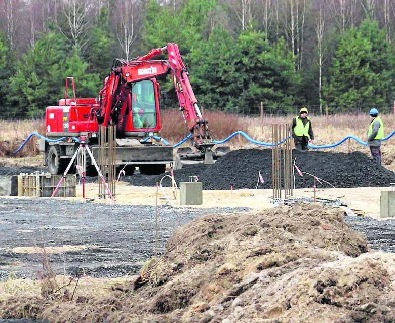 Na północy miasta trwa budowa zakładu Electropoli Poland.