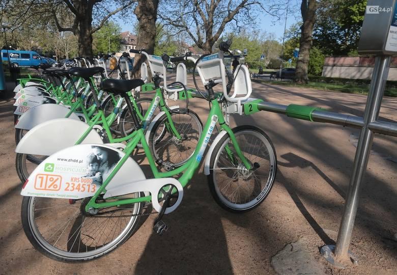 Medycy pojadą rowerami miejskimi za darmo. Lecz nie w Szczecinie