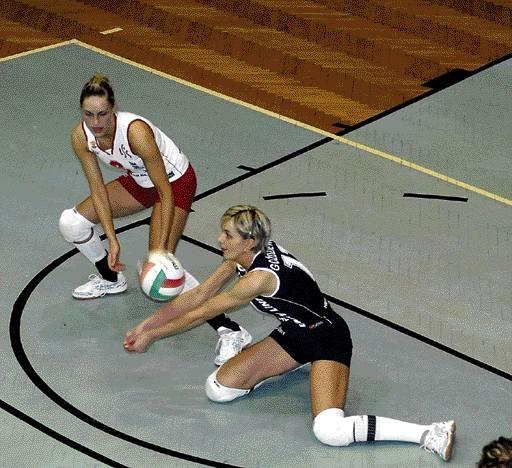 Libero Piasta Marzena Goździewska słabo zagrała w meczu ze Stalą.