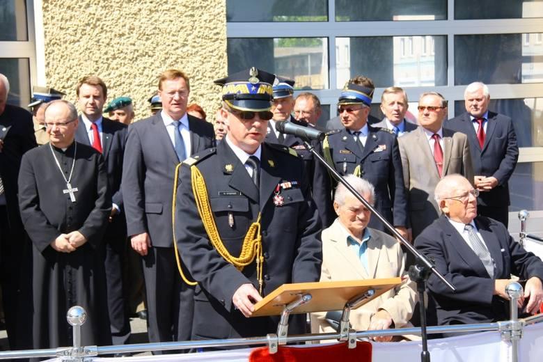 Gości przywitał komendant wojewódzki PSP generał Karol Stępień.
