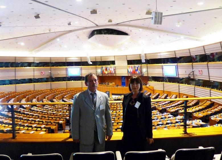 Rolnik Roku Maria Bąkowska i Nasz Sołtys Mariusz Buczkowski odwiedzili Brukselę [zdjęcia]