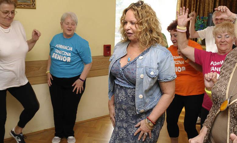 Małgorzata Potocka tańczyła z seniorami