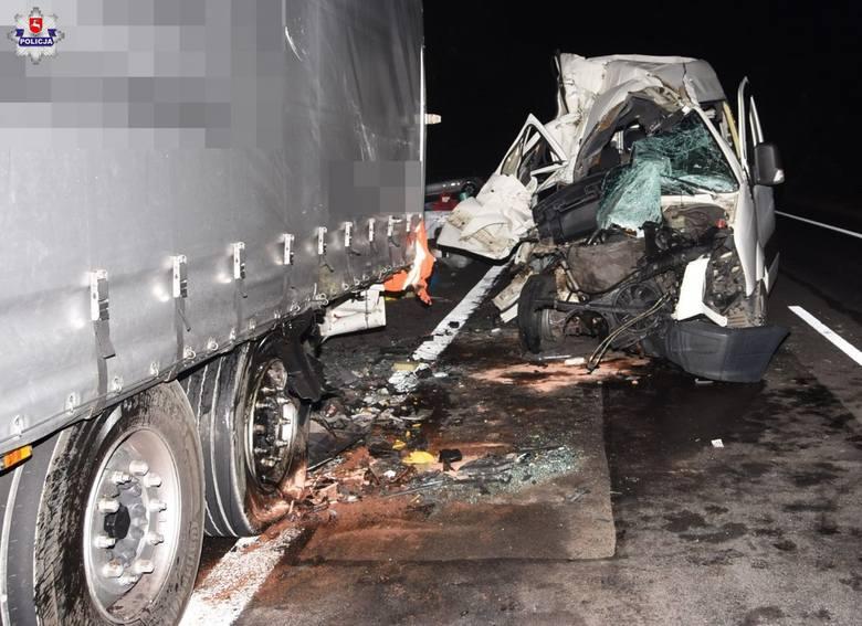 Wypadek w Wólce Okopskiej. Trzy Ukrainki trafiły do szpitala