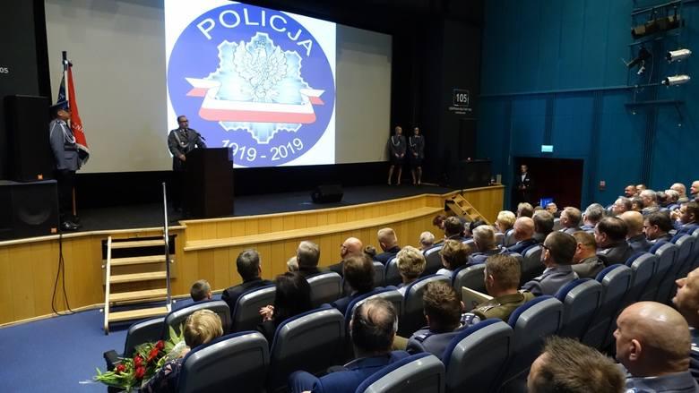 - Tegoroczne obchody Święta Policji  są wyjątkowe, ponieważ obchodzimy 100. rocznicę powstania Policji Państwowej 1919-2019 - mówił insp. Krzysztof Sieląg,