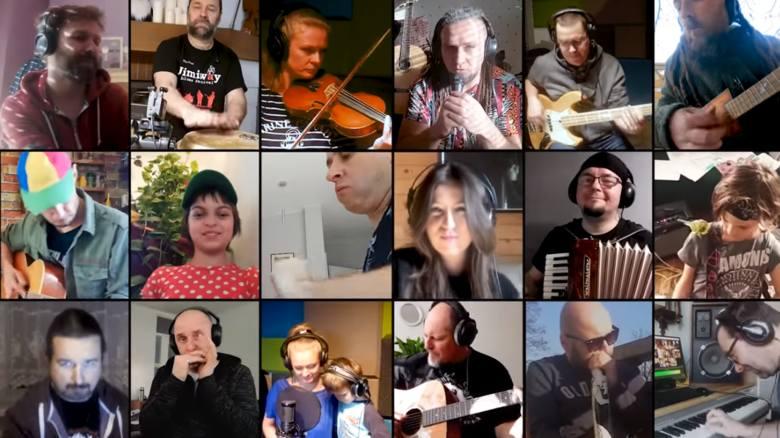 Nim stanie się tak - niesamowity cover w wykonaniu Niewielkiej Orkiestry Siedzących na Chacie