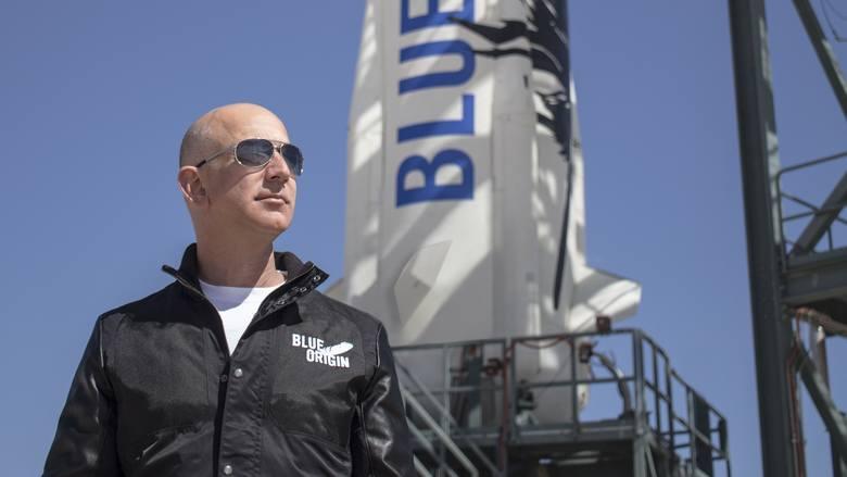 Firma Blue Origin Jeffa Bezosa wyśle 20 lipca pierwszych sześciu turystów w kosmos. Za bilet trzeba będzie zapłacić fortunę.