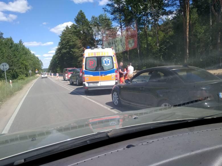 Do kolizji drogowej doszło na drodze do Ogrodniczek w pobliżu miejscowości Nowodworce.