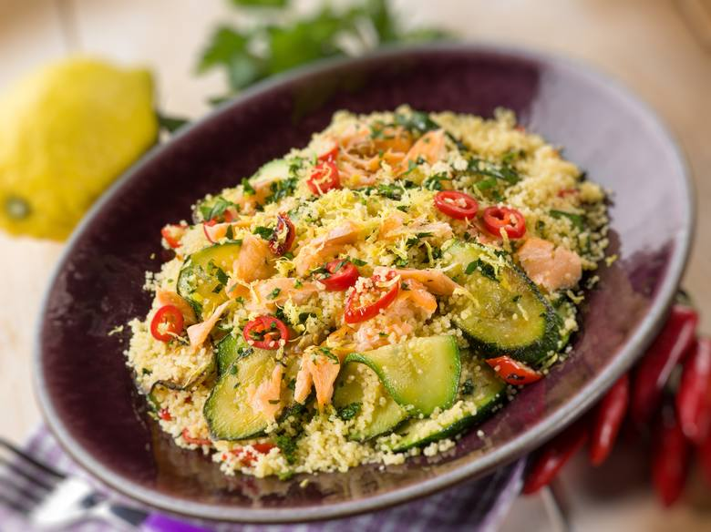 Grillowane warzywa idealnie współgrają z kaszą, ryżem czy makronem, które zawierają węglowodany złożone.