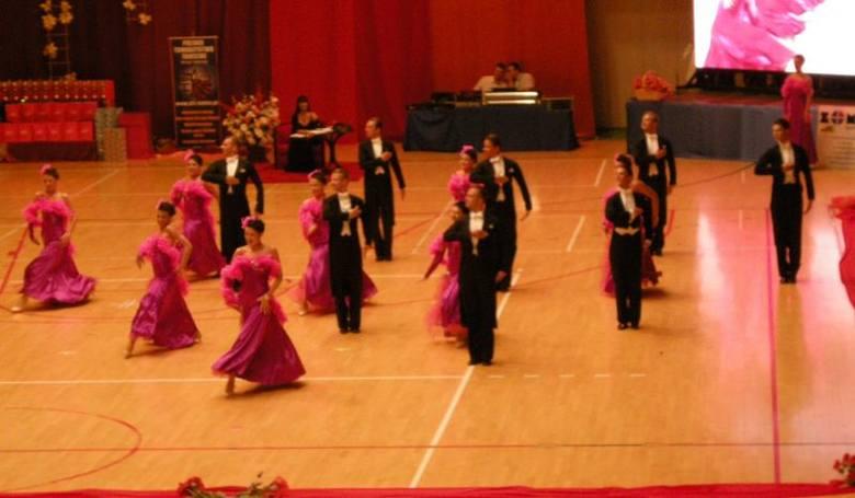 Kadryl na Mistrzostwach Polski Formacji Tanecznych - Chełm 2010