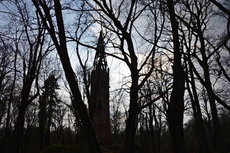 Lędów - opuszczona wieś w Lubuskiem