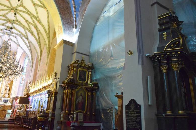 Kościół WNMP w Kraśniku. Ks. Zamorski: Zabytki nie przetrwają, jeśli im nie pomożemy
