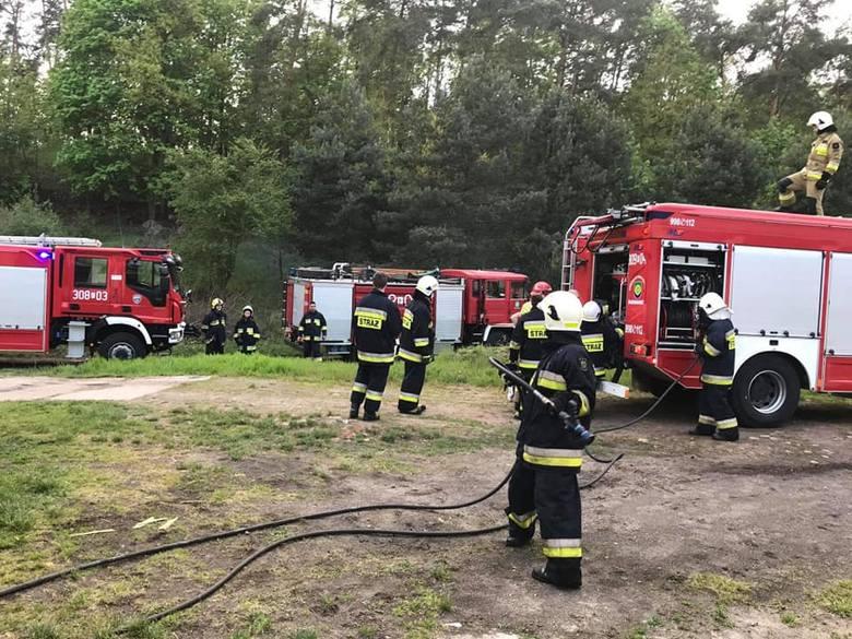 To pożaru kurnika w podgorzowskiej miejscowości Jenin doszło w sobotę, 2 maja. Na miejsce przyjechały zastępy zawodowej i ochotniczej straży pożarnej.