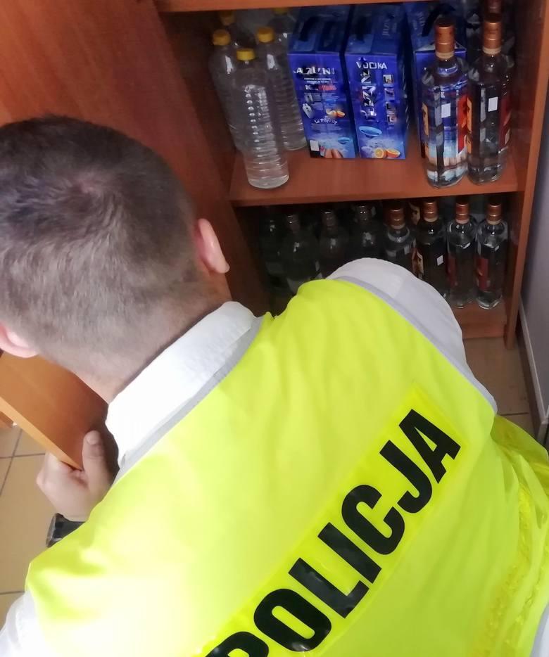 Nielegalne papierosy i alkohol za blisko 30 tys. złotych
