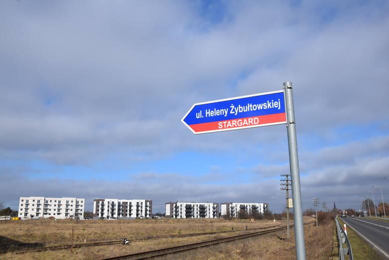 Pionierka Stargardu Helena Żybułtowska takiej ulicy na pewno by nie chciała. ZDJĘCIA