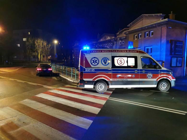 Do groźnego wypadku doszło w piątek po godz. 17 w Przemyślu na ul. św. Jana Nepomucena. Audi potrąciło tam dziecko, które trafiło do szpitala. Na miejscu