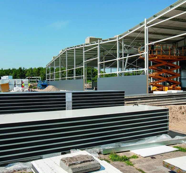 Budowa nowej hali magazynowo-logistycznej w WZL nr 2 w Bydgoszczy