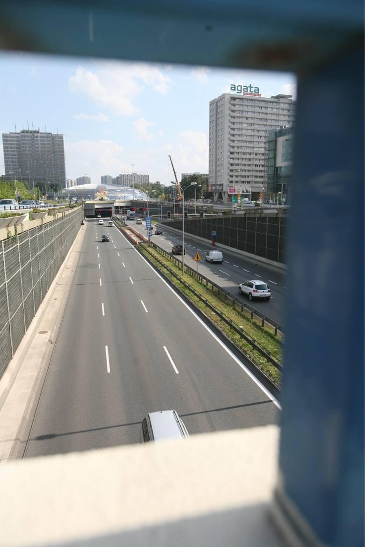 Tunel w Katowicach
