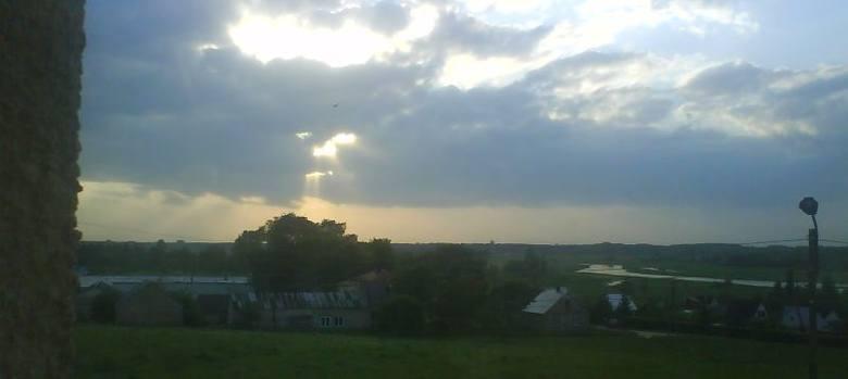 Piękny widok na dolinę Biebrzy