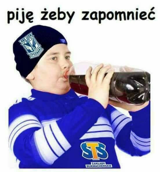 """MEMY po meczu Standard - Lech. """"Piję żeby zapomnieć"""""""