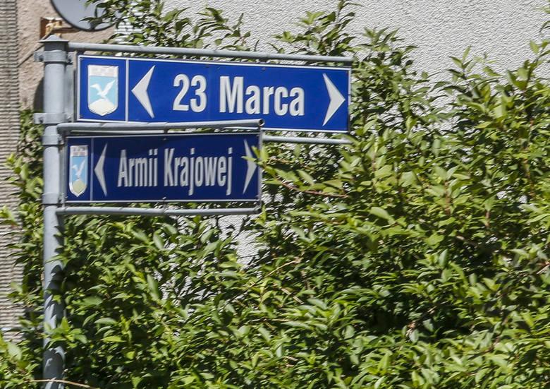 Zmiana nazwy ulicy na tę samą nazwę