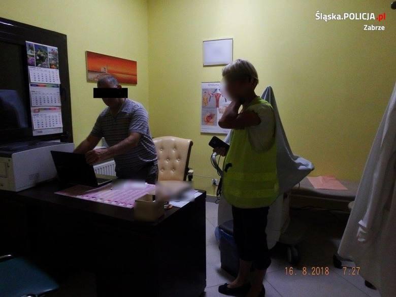Policjanci z Zabrza zatrzymali ginekologa z Zabrza, który jest podejrzany o zgwałcenie i doprowadzenie pacjentek do poddania się innej czynności seksualnej.