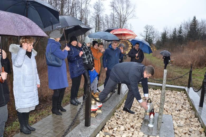 Pamięć kilkuset Źydów z Kańczugi i sąsiednich miejscowości, zamordowanych w sierpniu 1942 r. przez Niemców, uczczono w miejscu pamięci w Siedleczce w