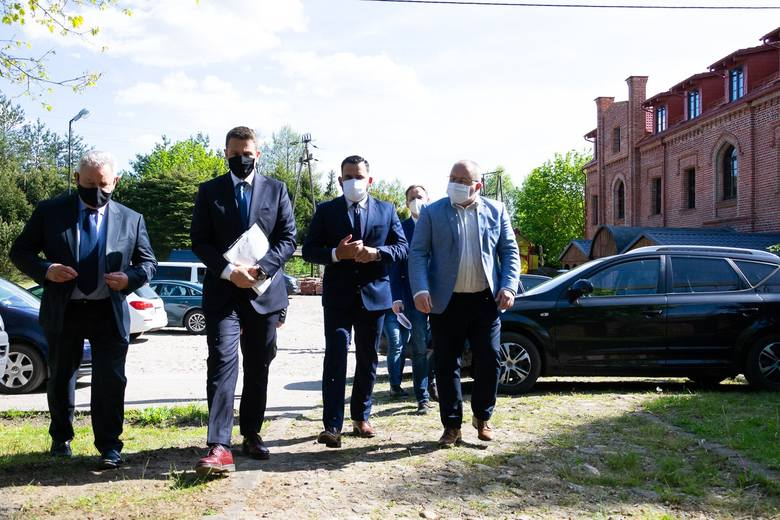 Wójt Potęgowa podzielił się wrażeniami z wizyty prezydenta Warszawy Rafała Trzaskowskiego