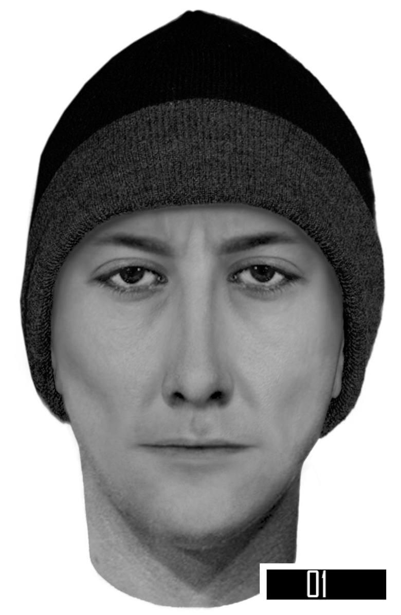Powiat radomszczański: Policja prosi o pomoc w ustaleniu tożsamości sprawcy kradzieży [portret pamięciowy]