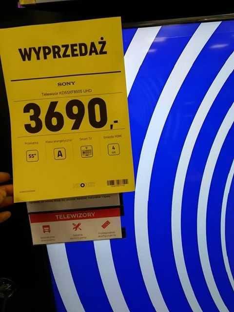 Telewizor przed promocją kosztował  w Grudziądzu 3399 zł, w promocji 3690 zł!