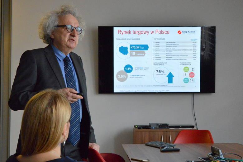 Andrzej Mochoń, prezes Targów Kielce: - Musimy się rozwijać, bo po pierwsze, brakuje nam  miejsca, a po drugie, inne ośrodki targowe nie stoją w miejscu.