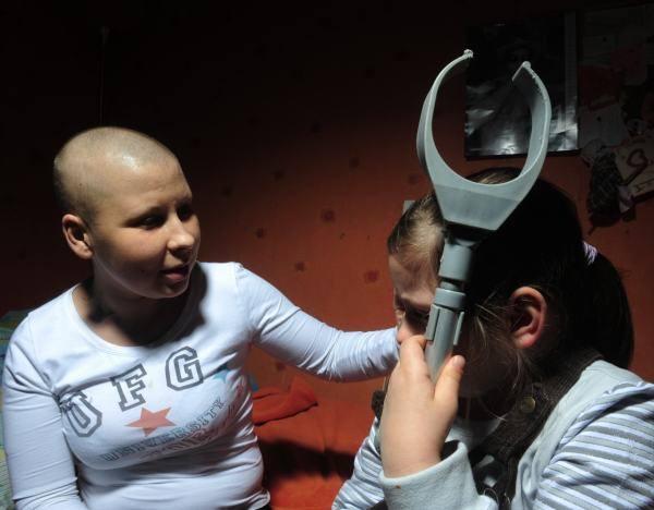 Katarzyna Kaczyńska z córką Nikolą. Mała bardzo tęskni za mamą.