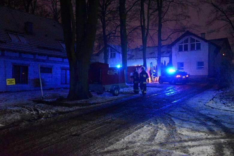 Pożar hospicjum w Chojnicach 6.01.2020. Cztery osoby nie żyją.