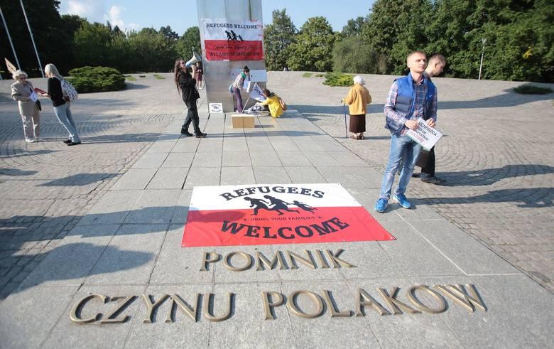 Szczecin podzielony. Dwie demonstracje w sprawie uchodźców [wideo, zdjęcia]