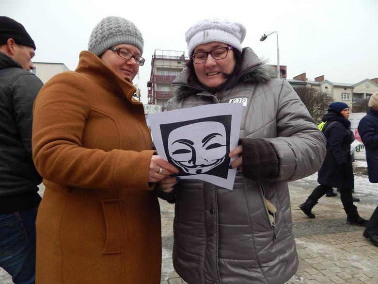 Manifestacja KOD w Gorzowie.