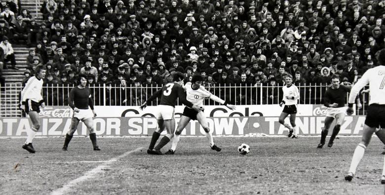Na stadionie Odry Opole Wiesław Korek rywalizował z Kazimierzem Deyną.