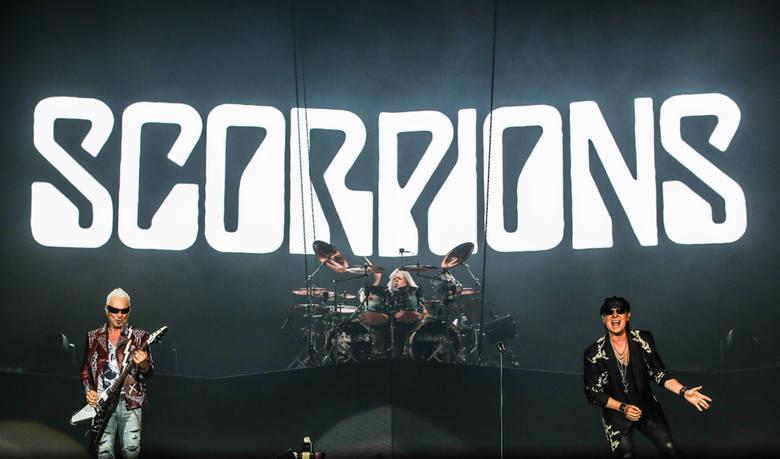 Koncert Scorpions w Ergo Arenie na pograniczy Gdańska i Sopotu 23.07.2019