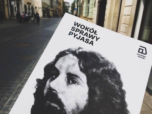 """""""Wokół sprawy Pyjasa"""" to książka krakowskiej Galerii Sztuki Współczesnej Bunkier Sztuki"""